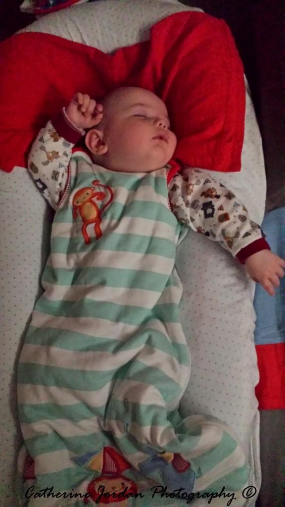 5 months old in Grobag Baby Sleep Bags