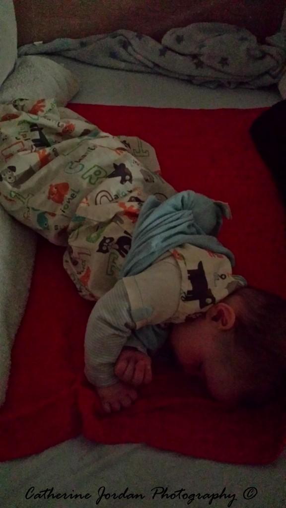 7 months old in Grobag Baby Sleep Bags