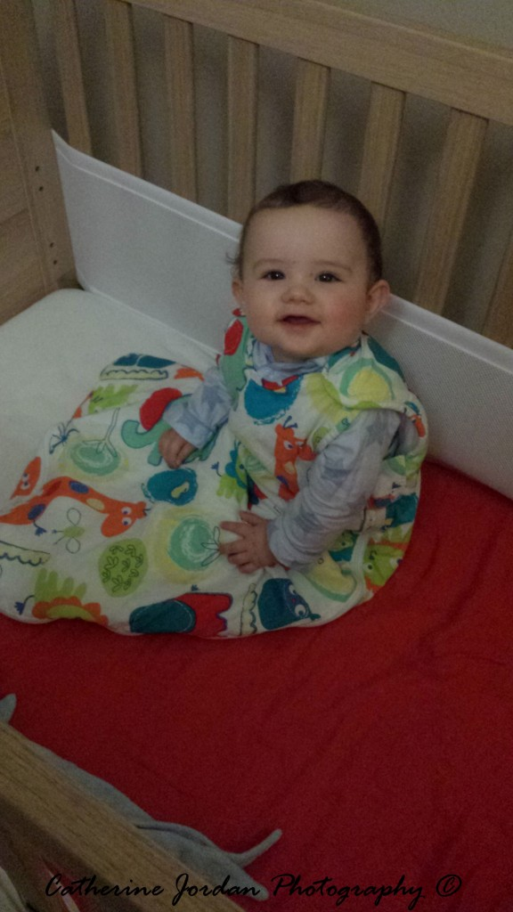 9 months old in Grobag Baby Sleep Bags