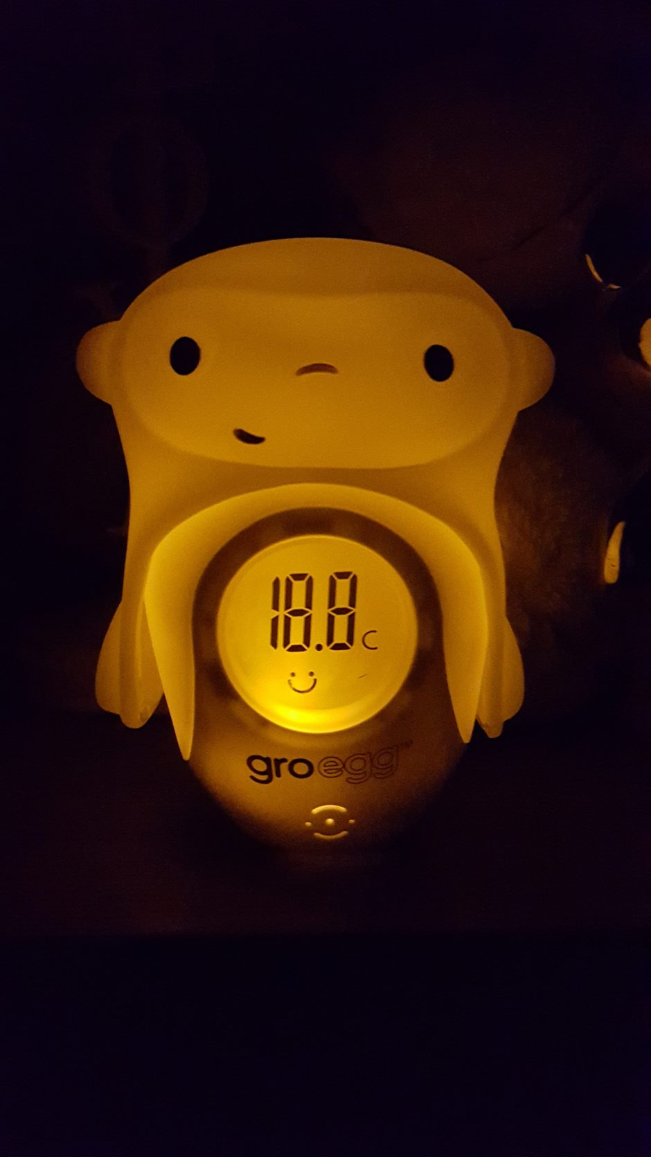 Baby Thermometers Baby Safety & Health Helpful Grobag Egg Baby Nursery Thermometer And Night Light Used But Good Condition