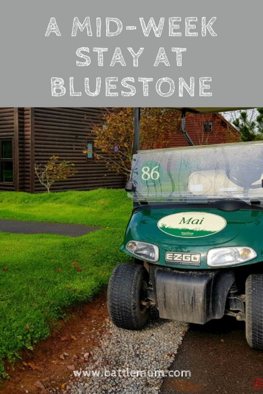 a mid-week stay at bluestone