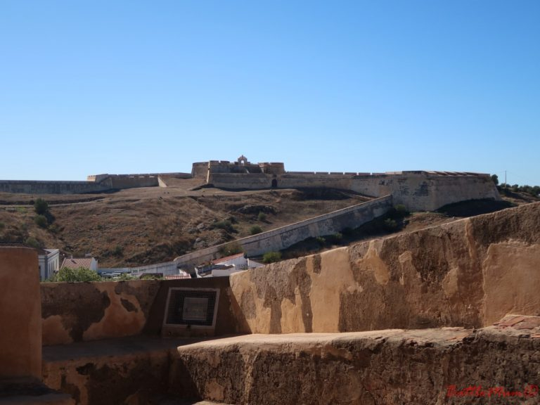 dragon hunting adventure at castro marim - looking out to the fort