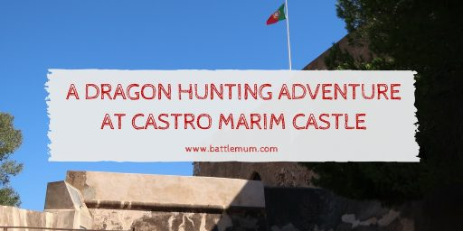 dragon hunting adventure at castro marim - twitter graphic