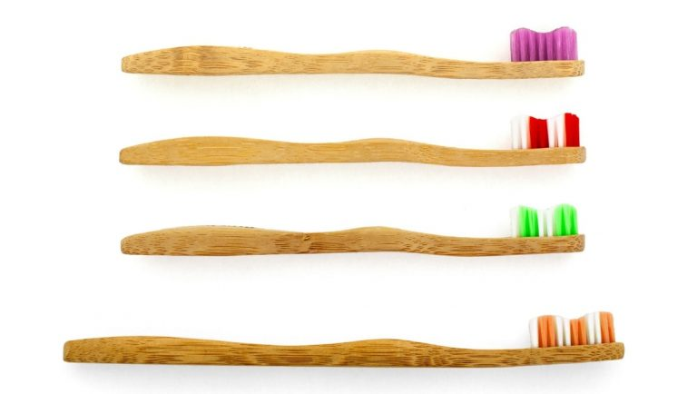 9 Easy Ways To Become Plastic Free At Home - Ways to Reduce your Plastic Waste - Bamboo Toothbrushes