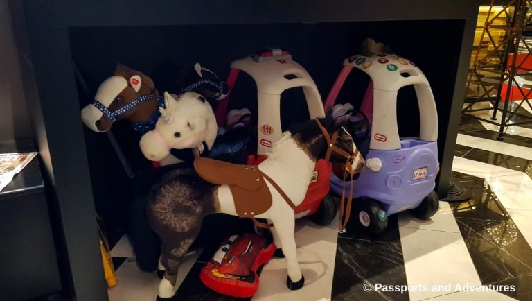 Clarion Hotel Helsinki Airport - Toys for kids provided by the hotel.