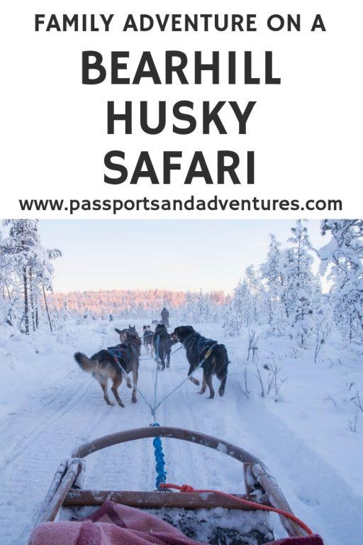 Family Adventure On A Bearhill Husky Safari