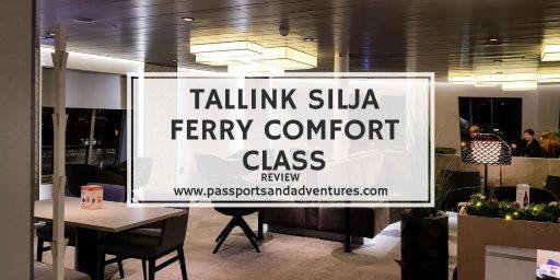 Tallink Silja Ferry Comfort Class Review