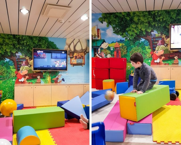 Tallink Silja Ferry Comfort Class Review - The Children's play area on board the Star ship.