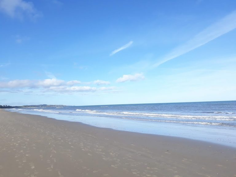 A view of a beach in County Wexford, a less well-visited county of Ireland.