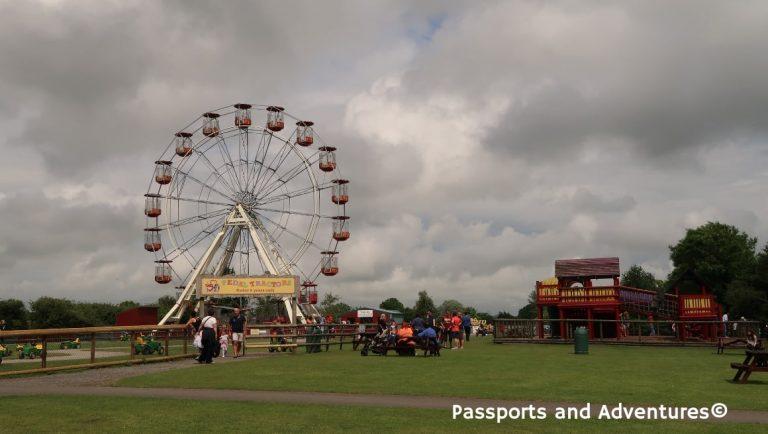 The Ferris Wheel of Folly Farm, West Wales