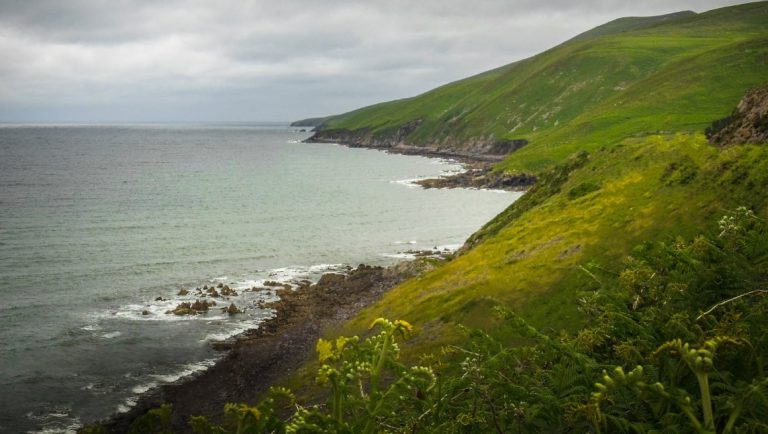 A view of the Dingle Peninsula in Kerry, Ireland.