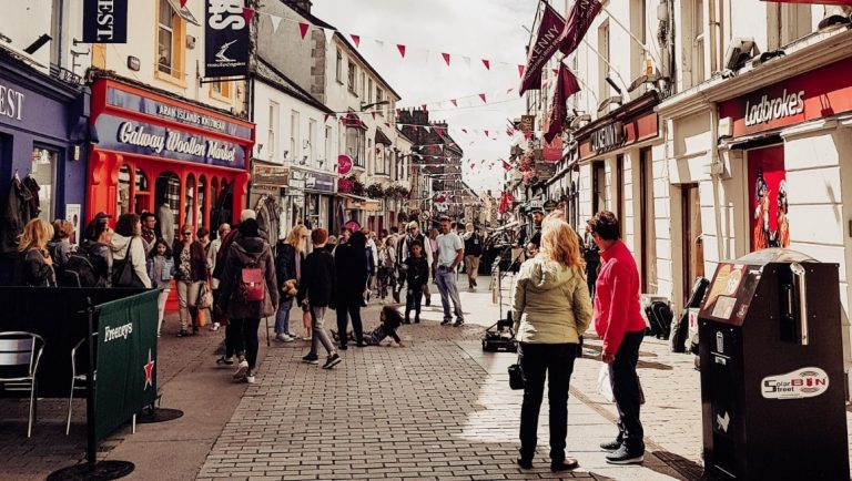Galway City is a must-visit city in the West of Ireland.