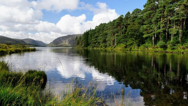 A stunning lake view in the Glenveagh National Park in County Donegal.