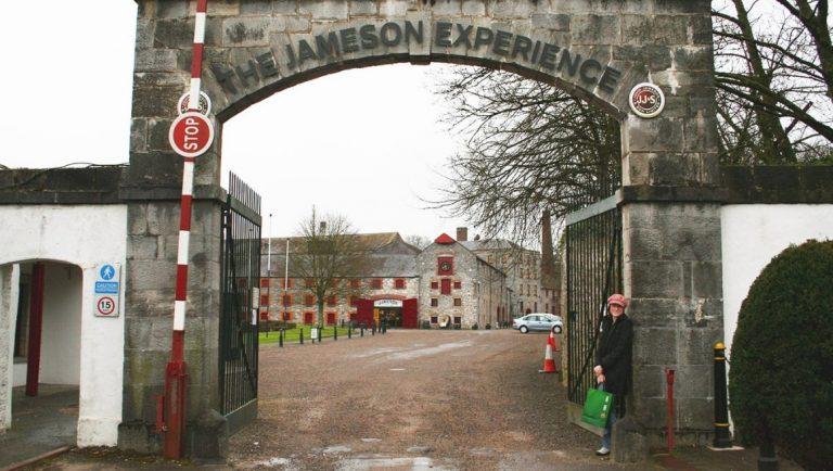 The entrance to the Jameson Experience at the distillery in Midelton, Cork.