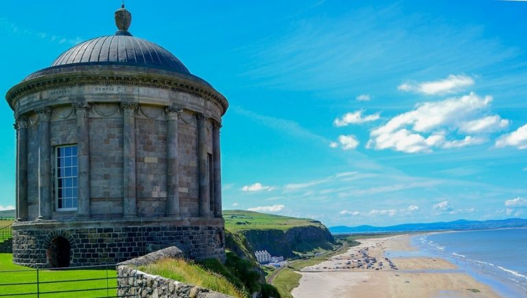 Mussenden Temple in Northern Ireland.