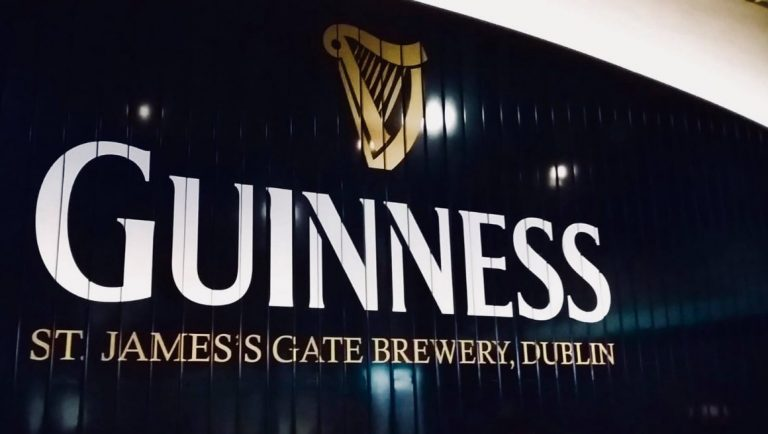 A visit to Dublin would not be complete without a visit to Guinness' in St James Gate Brewery, Dublin.