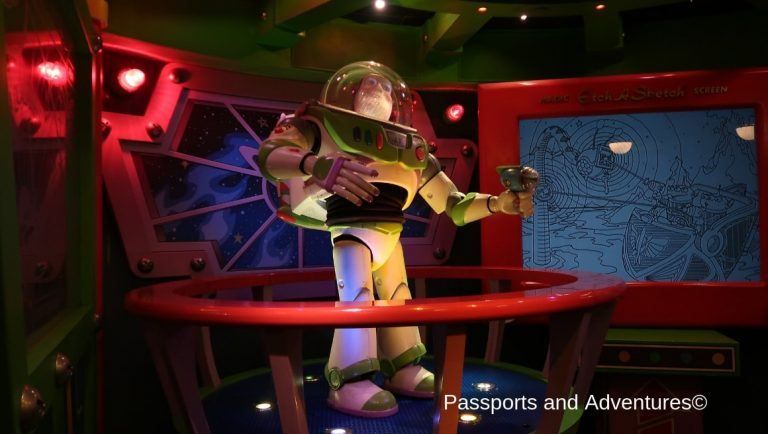 Buzz Lightyear's Laser Blast Ride at Disneyland Paris is one of the best rides for young kids.