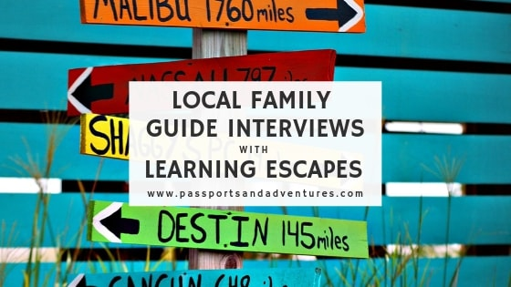 Local Family Guide Interviews with Learning Escapes