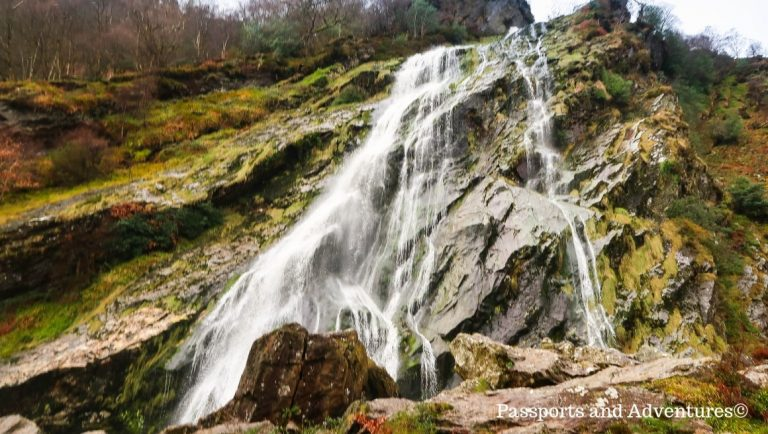Powerscourt Waterfall, County Wicklow - a great day trip from Dublin with kids