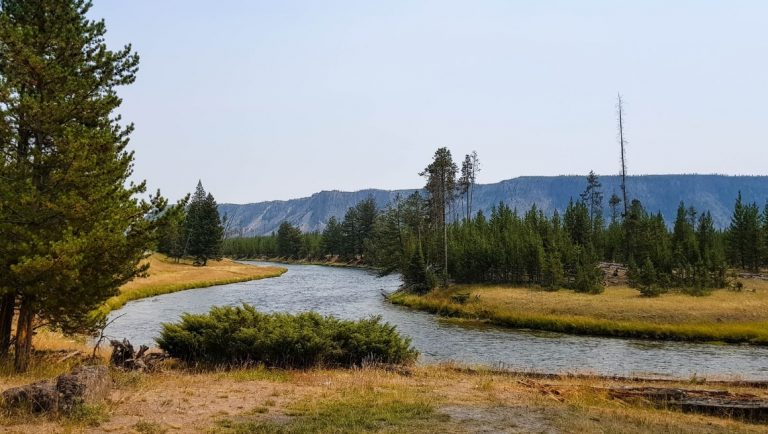 Firehole River is a great place to add to your Yellowstone itinerary
