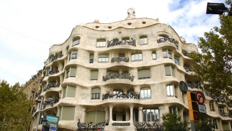 Casa Mila, one of the best places to visit in Barcelona with kids