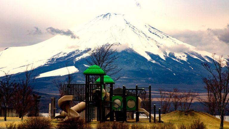 Lake Kawaguchi Playground, Japan