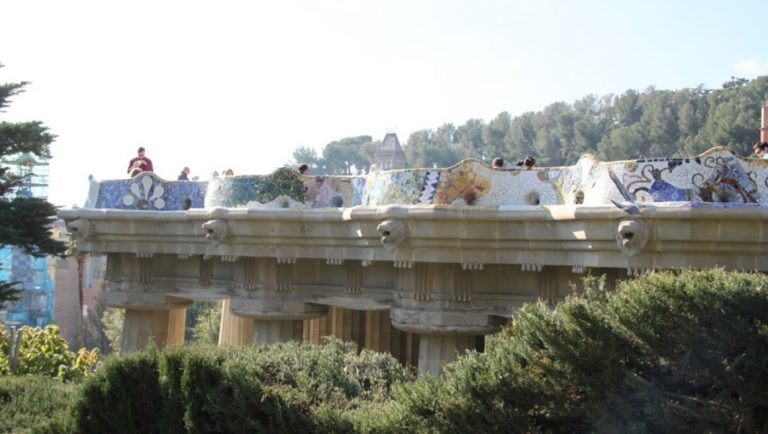 Parc Guell, Barcelona, one of the many top things to do in Barcelona with kids