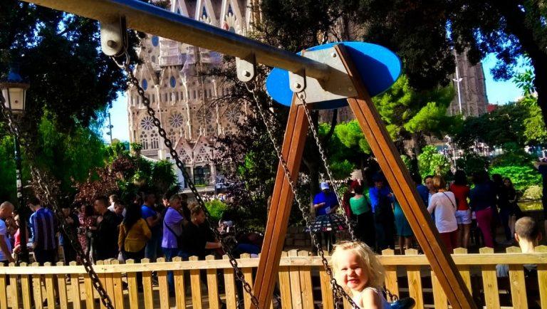 Sagrada Familia Playground