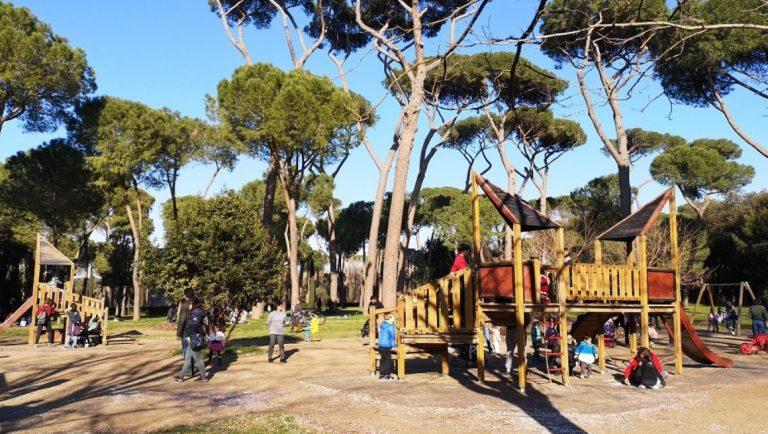 Villa Borghese Playground, Rome