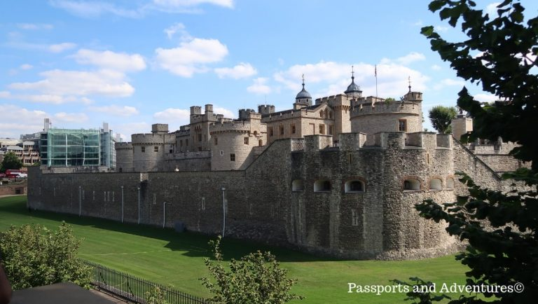 The Tower of London - One of the best London attractions for toddlers
