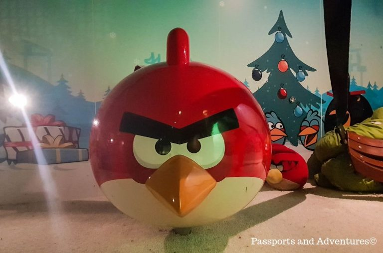 The Angry Birds playground inside Santa Park, Rovaniemi