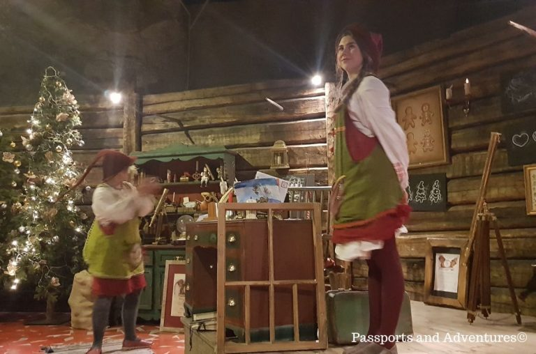 The Elves at Elf School at SantaPark, Rovaniemi