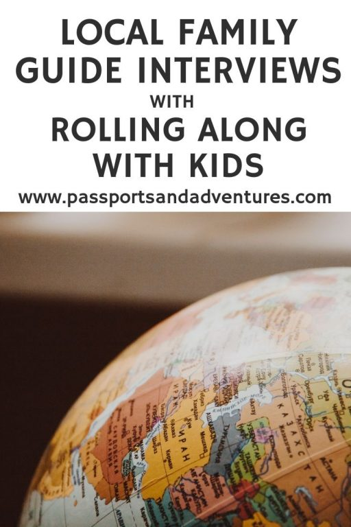 Local Family Guide Interviews with Rolling Along With Kids