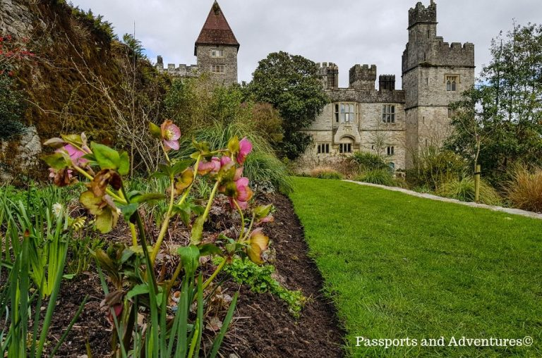 The stunning lower gardens of Lismore Castle, Waterford, Ireland