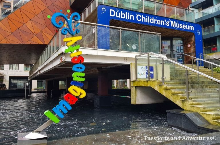 A picture outside Imaginosity, the Dublin Children's Museum