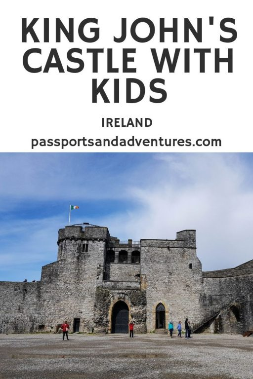 King John's Castle With Kids (Ireland)