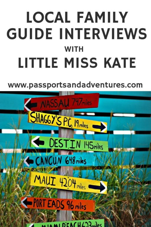 Local Family Guide Interviews with Little Miss Kate
