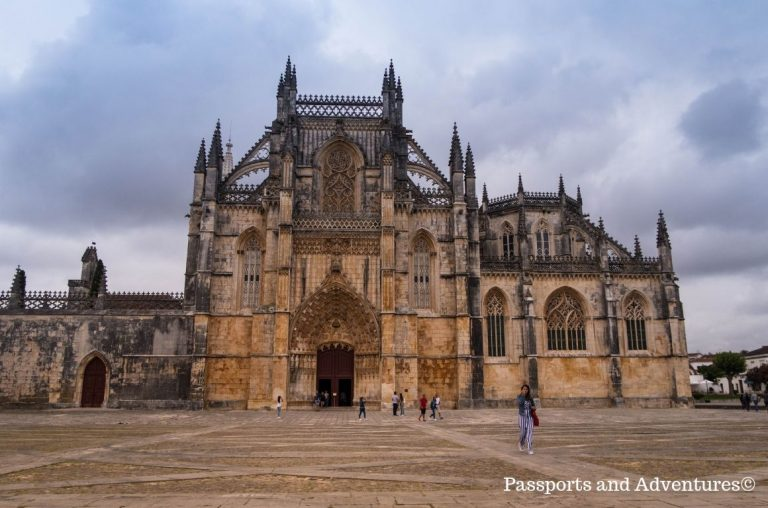 The Monastery of Batalha in Central Portugal from outside