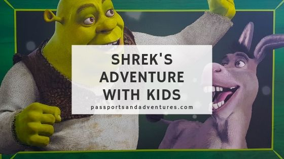 Shreks Adventure with kids