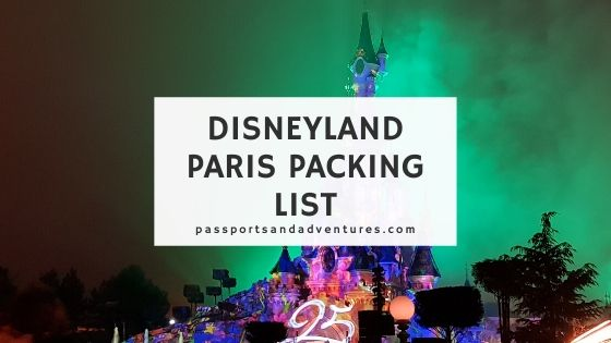 Disneyland Paris Packing List