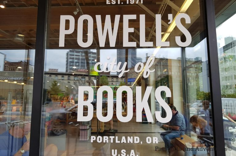 Powell's City of Books, a must-visit store in Portland, Oregon
