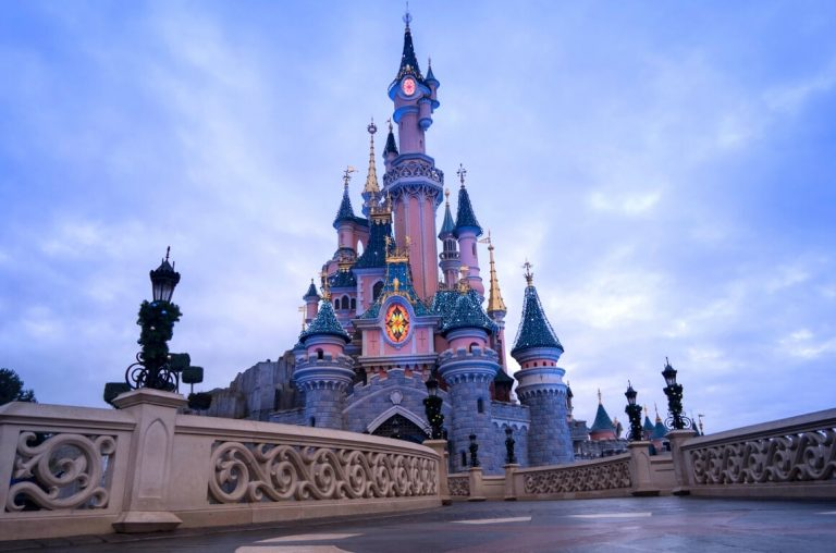 A picture of Sleeping Beauty's Castle at Disneyland Paris