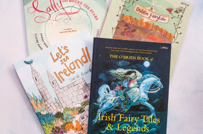 A collection of Irish storybooks for children