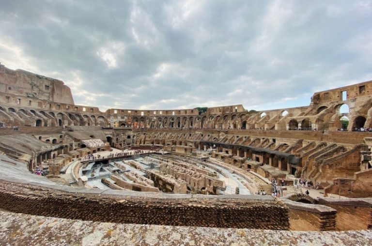 A picture of the Colosseum in Rome, one of the best places to visit in Italy for families