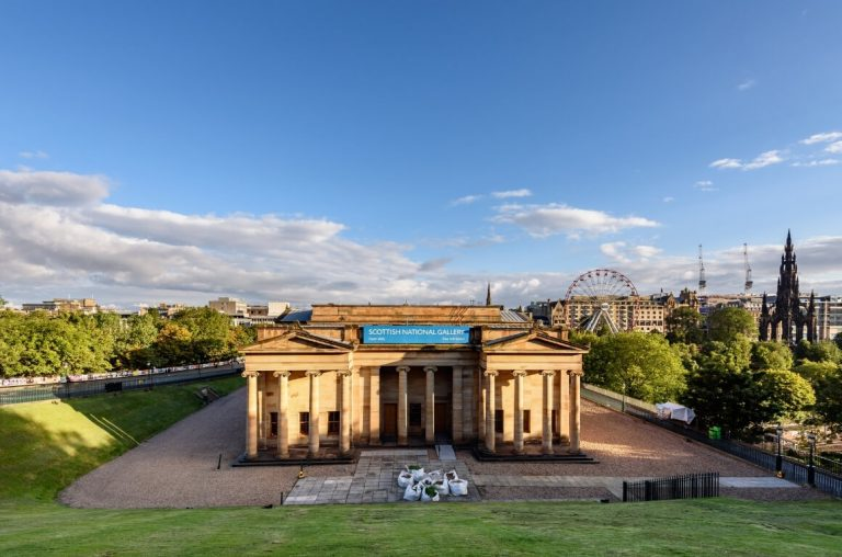 A picture of the Scottish National Gallery