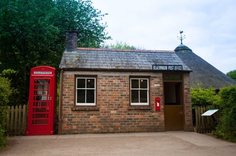 A picture of the Blaenwaun Post Office at St Fagans near Cardiff