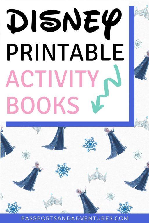 Disney Activity Printables - Free Disney Activity Book Printables